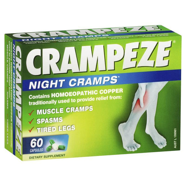 Crampeze Night Cramps Capsules