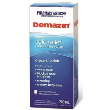 Demazin Cold Relief