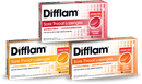 Difflam Sore Throat Lozenges Honey and Lemon