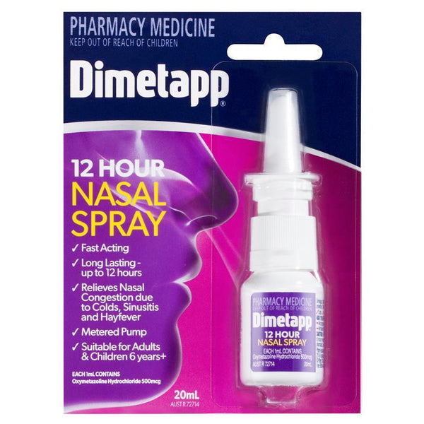 Dimetapp 12 Hour Nasal Decongestant Spray