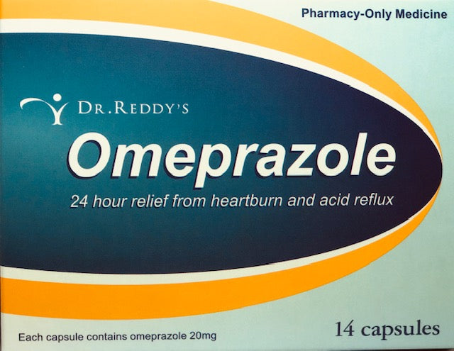 Dr. Reddy's Omeprazole 20mg Tablets