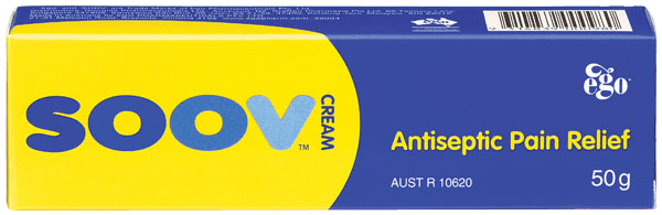 Ego Soov Antiseptic Pain Relief Cream