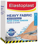Elastoplast Heavy Fabric Waterproof Dressing 6cm x 10cm - 8 Pieces