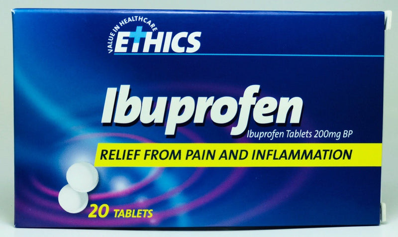 Ethics Ibuprofen Pain, Fever & Inflammation Relief