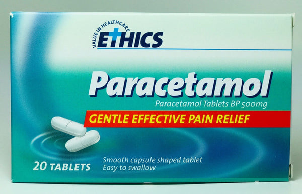 ETHICS Paracetamol 500mg 20 CS tab