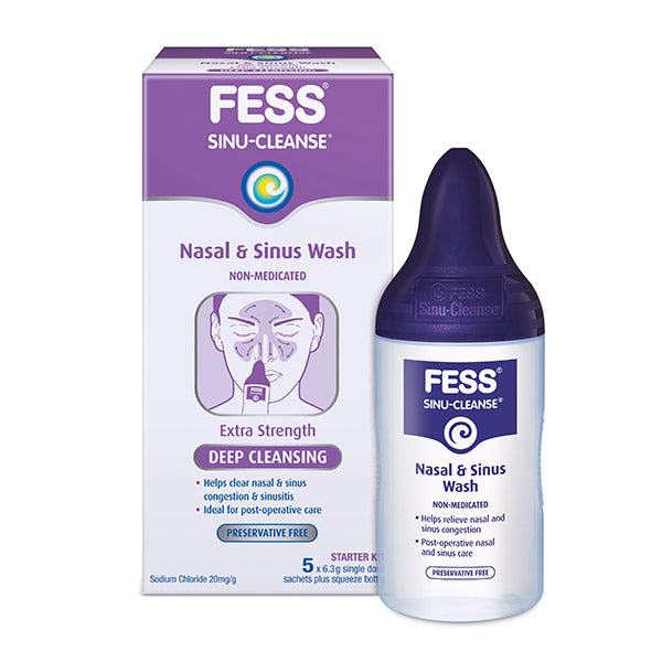 FESS Sinu-Cleanse Deep Cleansing Wash Starter Kit