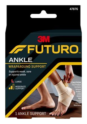 FUTURO Wrap Around Ankle Support - Large