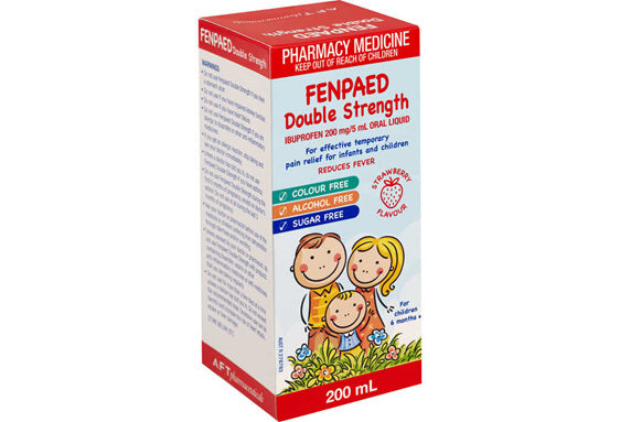 Fenpaed Ibuprofen Pain & Fever Relief Liquid