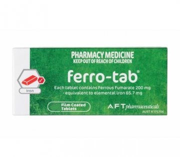 Ferro-Tab Iron Tablet 200mg 100s