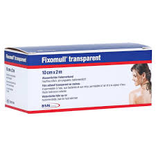 Fixomull Transparent Tape 10cmx2m