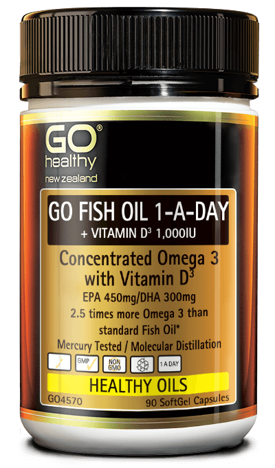 Go Fish Oil 1-A-DAY + Vitamin D3