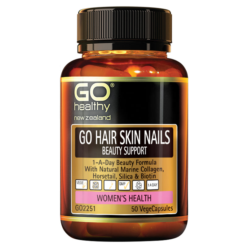 GO Hair Skin Nails Beauty Support 50 Capsules