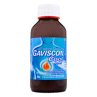 Gaviscon Heartburn & Indigestion Cool Liquid