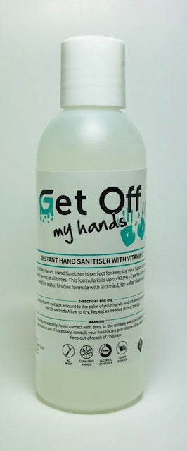 Get Off My Hand Alcohol Sanitiser 250 ml