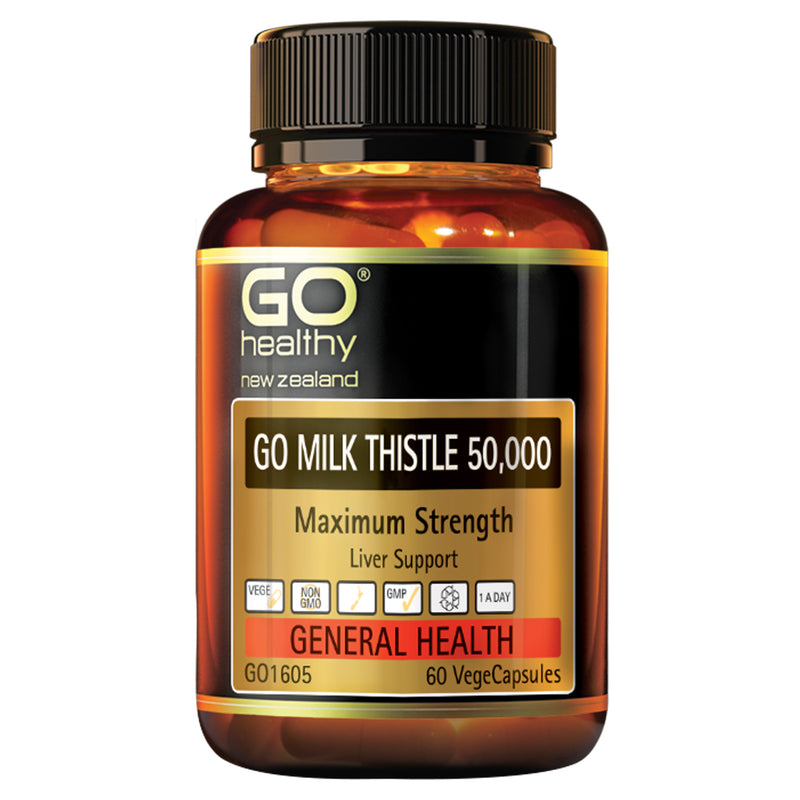 Go Milk Thistle 50,000 mg Liver Support