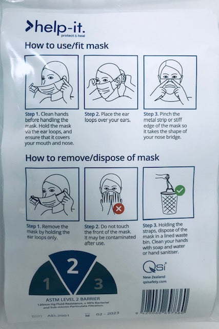 Help It Surgical Face Mask