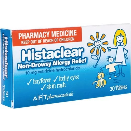 Histaclear Anti-Histamine Tablets 30s