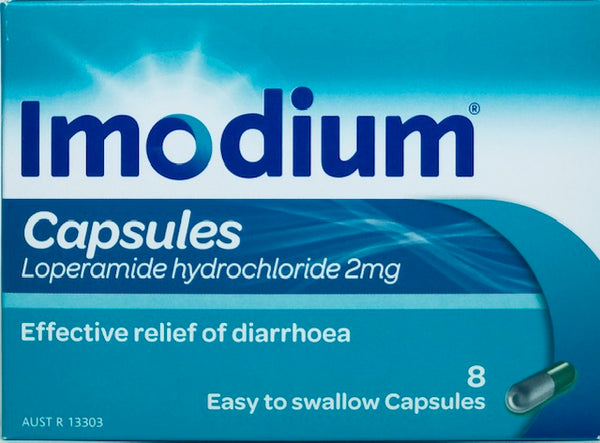 Imodium 2mg Anti-diarrheal Capsules