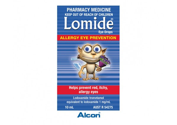 Lomide Allergy Eye Drops 10 mls