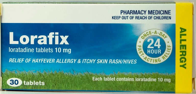 Lorafix Anti-Histamine 10mg Tablets 30s