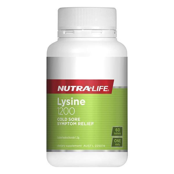 Lysine 1200mg Tablets