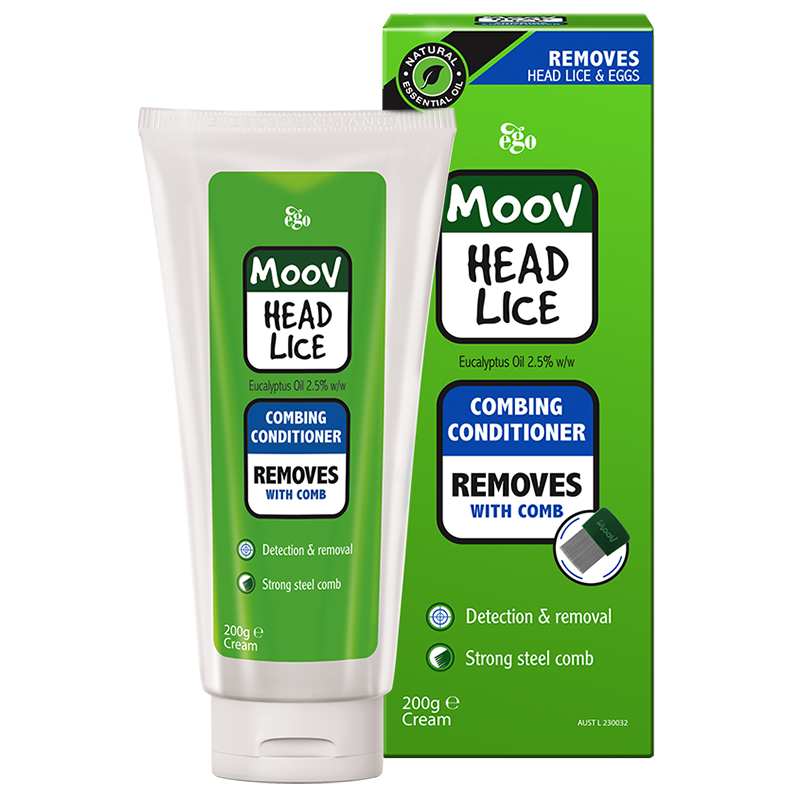 MOOV Head Lice Combing Conditioner 200ml