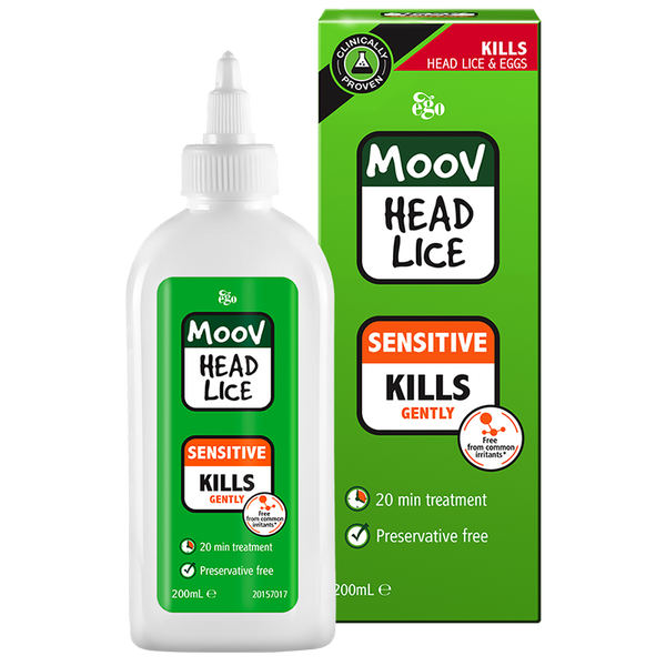 MOOV Head Lice Sensitive Shampoo 200ml
