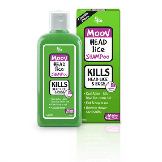 MOOV Head Lice Shampoo Family Pack 500ml