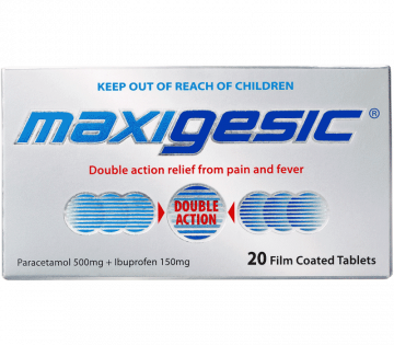 Maxigesic Pain, Fever & Inflammation Relief Tablets