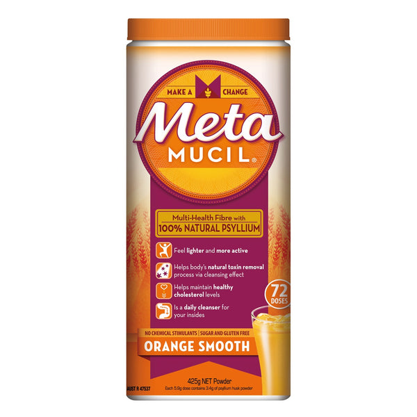 Metamucil Orange Smooth Fibre Supplement