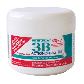 Neat 3B Action Sweat Rash and Chafing Cream 100g