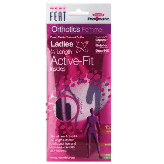 Neat Feat Ladies Active Fit 3/4 Length Insole