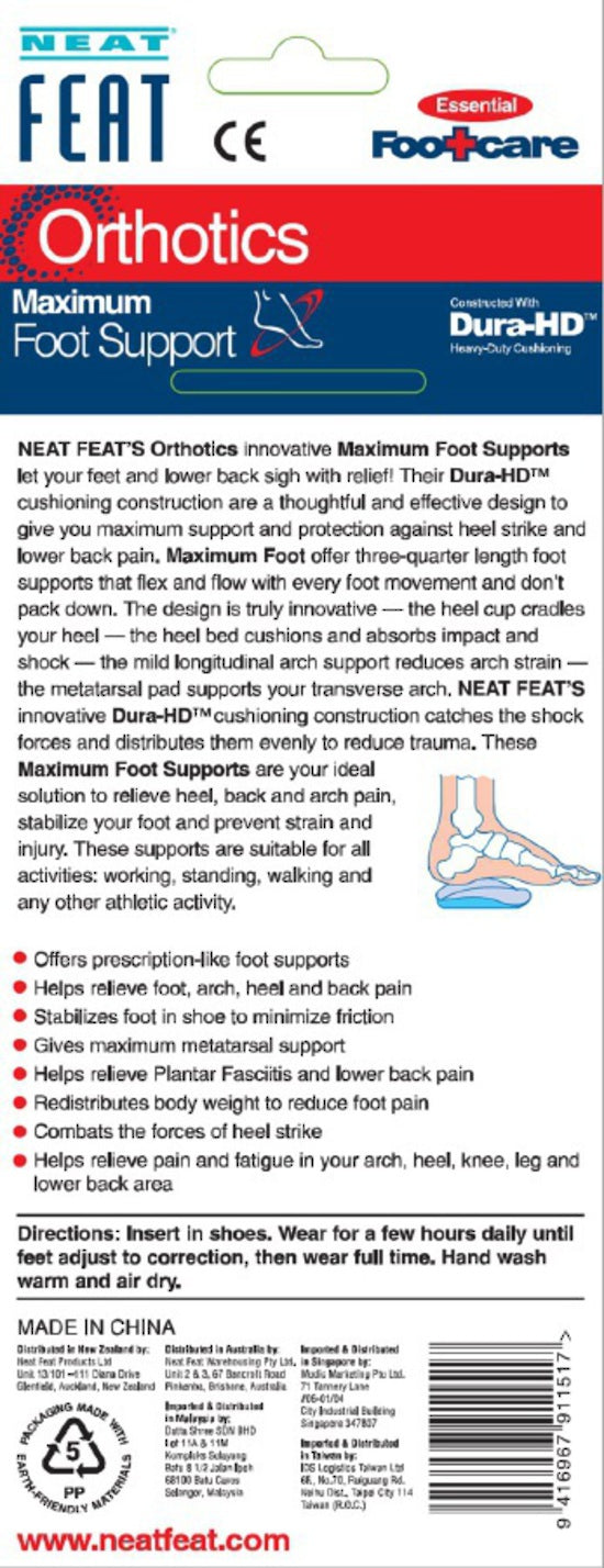 Neat Feat Maximum Foot Supports