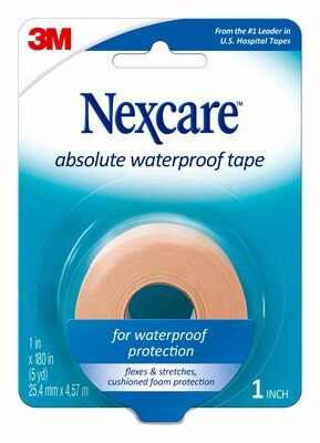 Nexcare Absolute Waterproof Tape, 25mm x 4.5m