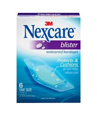 Nexcare Blister Waterproof Bandages - 6s