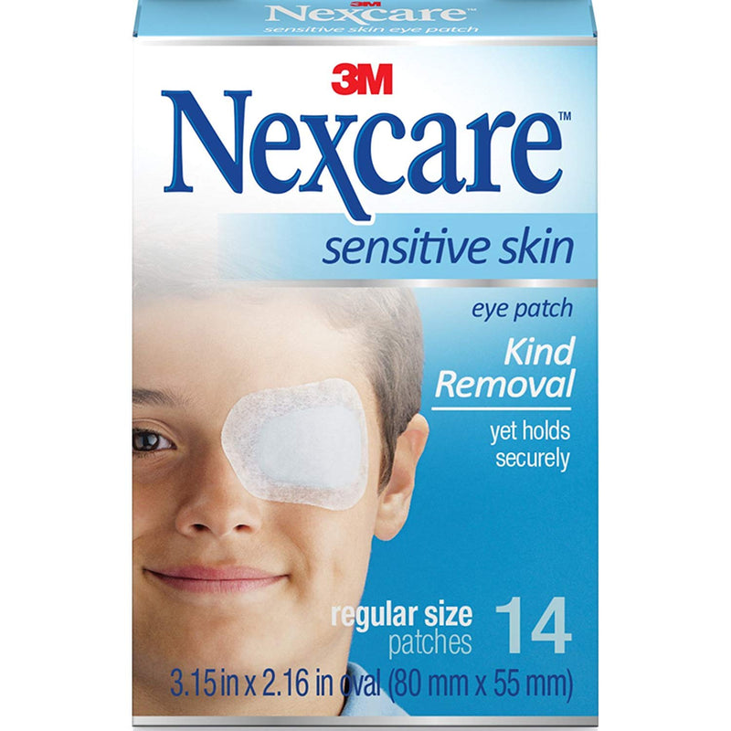 Nexcare Eye Patch Sensative Skin Regular Size - 14s