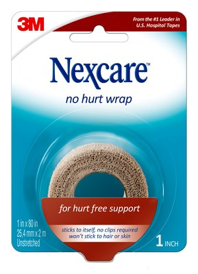 Nexcare No Hurt Wrap, 25mm x 2m