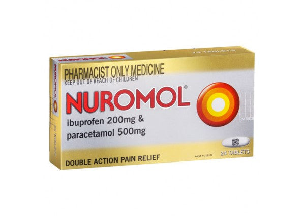 Nuromol Pain, Fever & Inflammation Relief Tablets