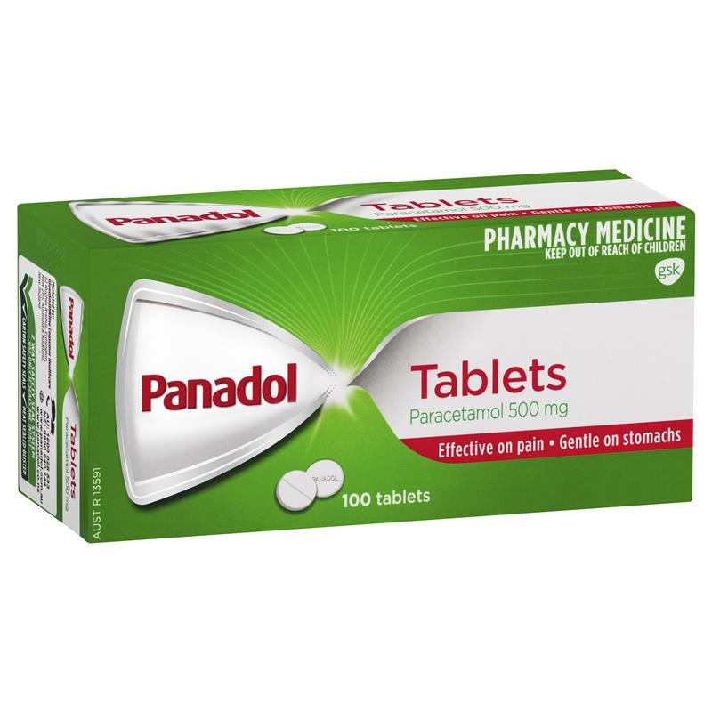 Panadol Pain & Fever Relief Tablets