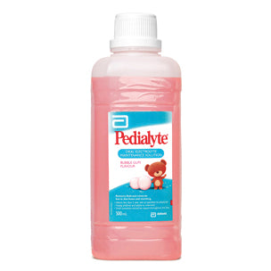 PEDIALYTE Oral Sol Bubblegum2x500ml