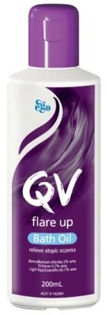 QV Flare Up Bath Oil