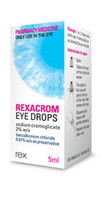 Rexacrom Allergy Eye Drops