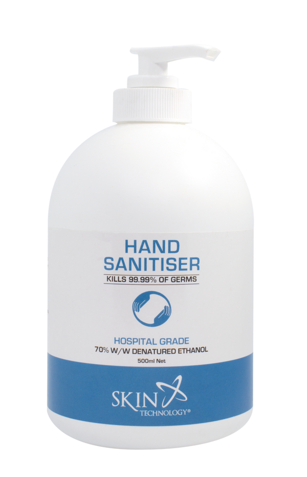 Skin Technology Hand Sanitiser Gel 500 ml