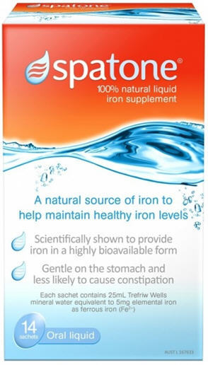 Spatone Iron Supplement Liquid Sachets