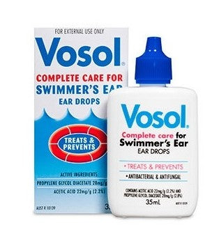 Vosol Swimmer's Ear Drops 35 ml