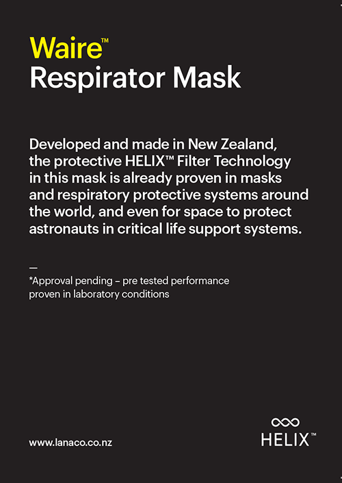 Waire? Disposable Mask P2 Ready-to-wear (7 x single use masks)