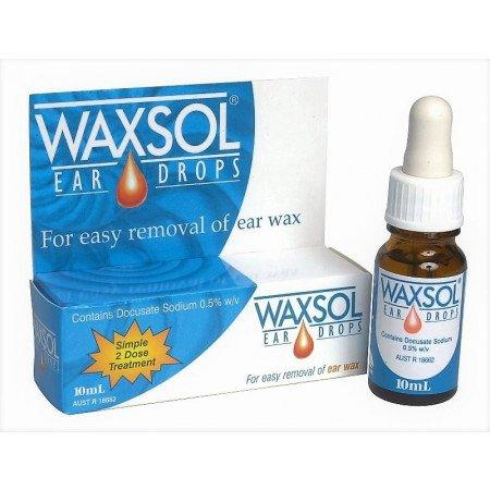 Waxsol Ear Wax Drops 10 mls