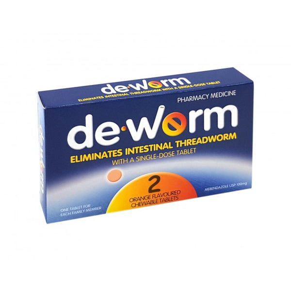 De-Worm 100mg Worming Tablets