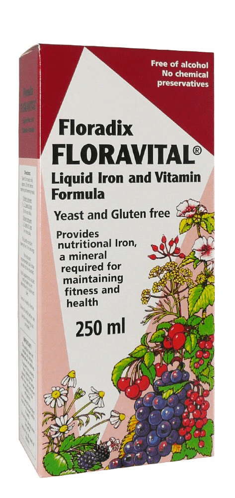 Floravital Liquid Iron And Vitamin Formula