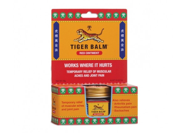 Tiger Balm Red Pain Relief Extra Strength Ointment